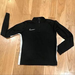 Youth Nike Half Zip Sweatshirt